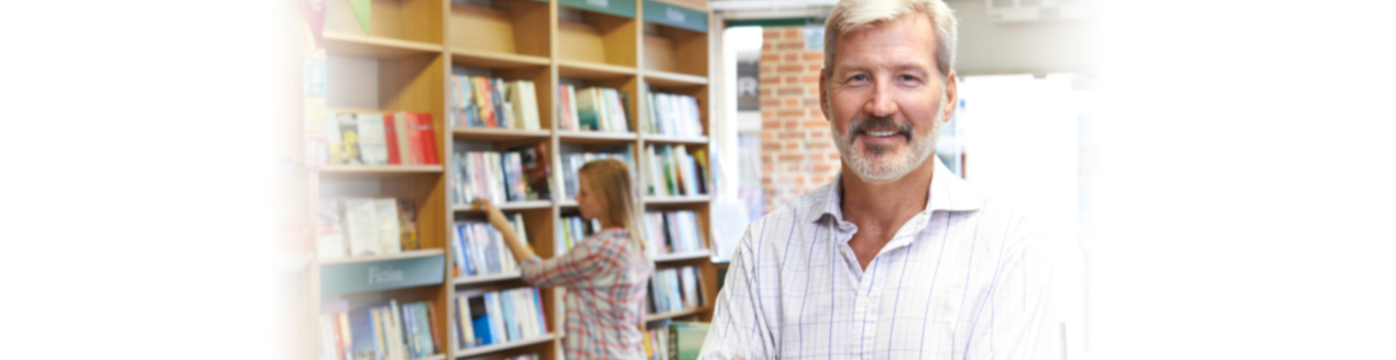 Male Owner of Bookshop, Bookkeeping  in Pleasanton/East Bay, CA and Boston, MA